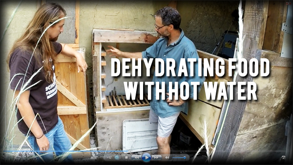 dehyrating food with hot water