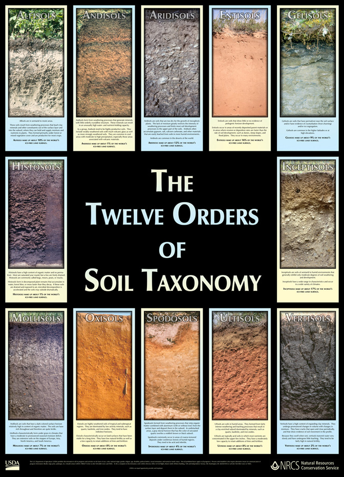 Permaculture tip of the day the 12 orders of soil for Different uses of soil